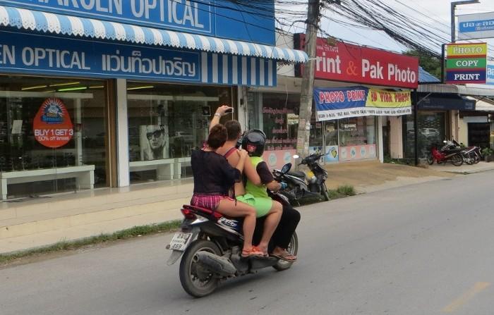 Мототакси на Самуи, Таиланд