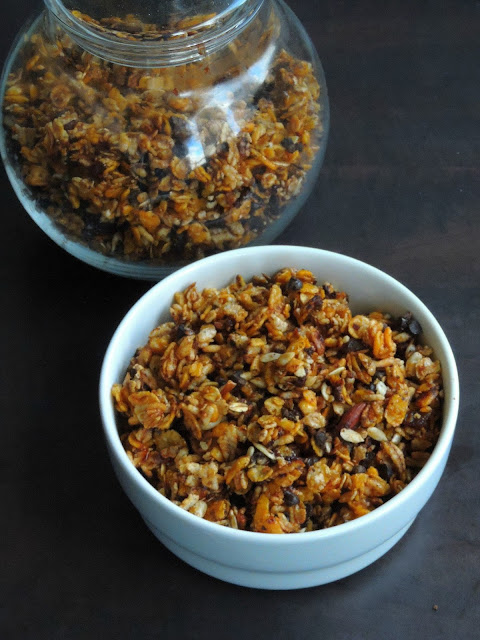 Toasted muesli, Easy Muesli