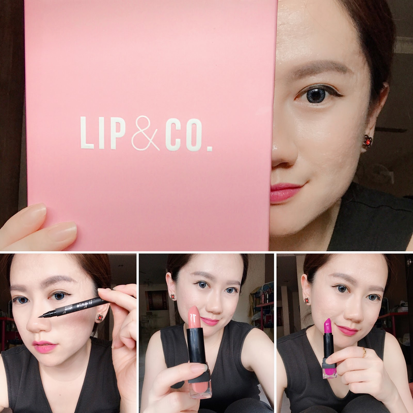 "[Beauty Review] Lip & Co. Beauty Products - ""Masstige"" Lipstick and Liquid Eyeliner"
