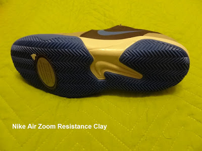 Nike Air Zoom Resistance Clay shoes sole