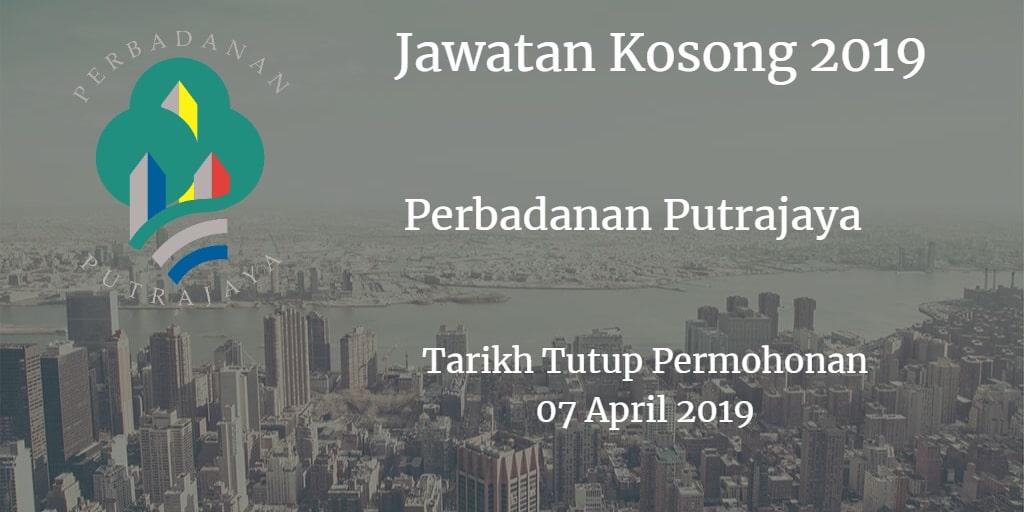 Jawatan Kosong Perbadanan Putrajaya 07 April 2019