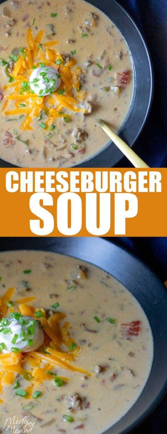 Cheeseburger Soup Recipes