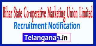 BISCOMAUN Bihar State Co-operative Marketing Union Limited Recruitment Notification