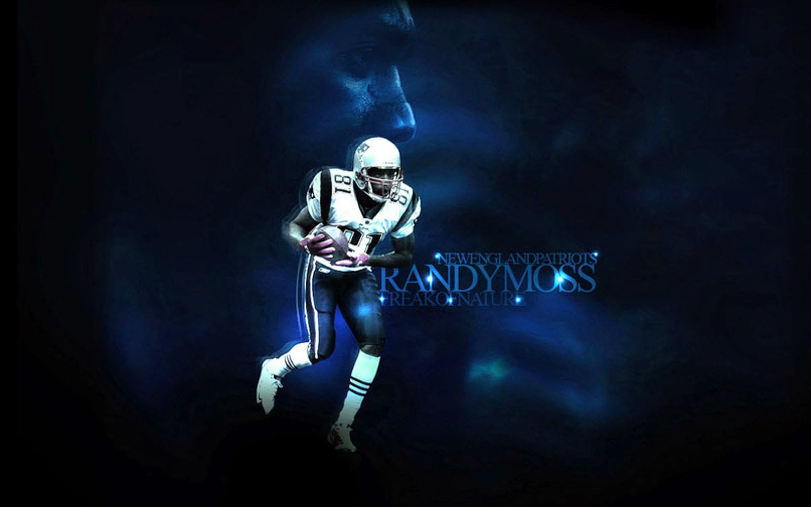 American Football Backgrounds Desktop: Wallpapers: American Football Player Randy Moss Wallpapers
