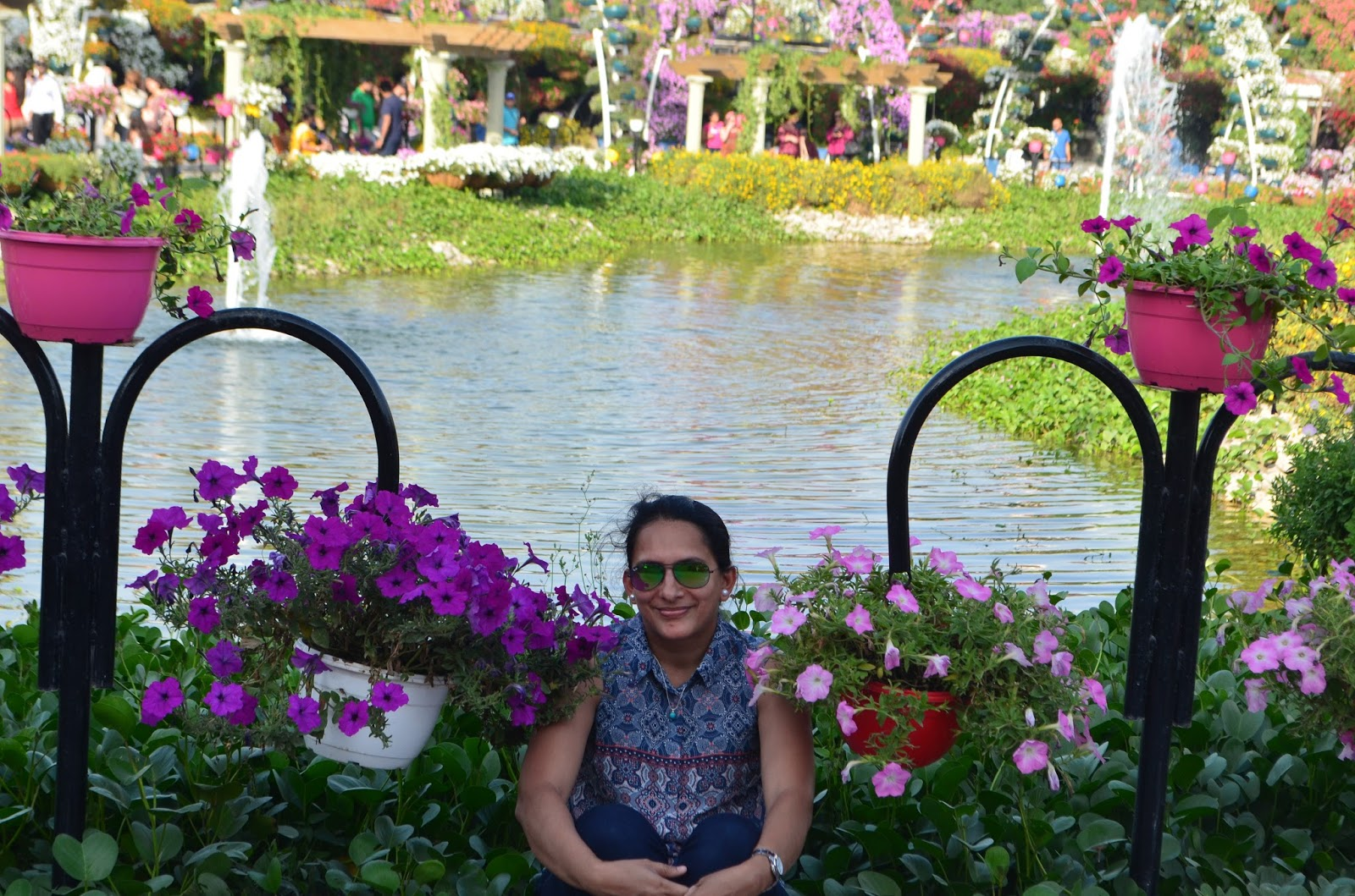 Exploring Beyond The Skyscrapers. Largest Flower Garden Of The World - Miracle Garden Dubai. 25