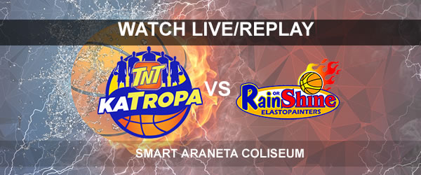 List of Replay Videos TNT vs ROS September 29, 2017 @ Smart Araneta Coliseum