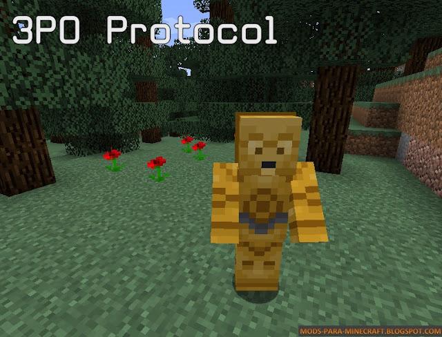 Imagen 1 - Star Wars Droid mod para Minecraft 1.8