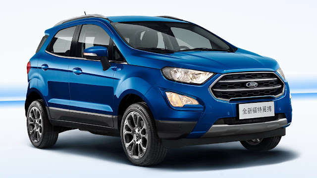 New 2017 Ford EcoSport Facelift version image