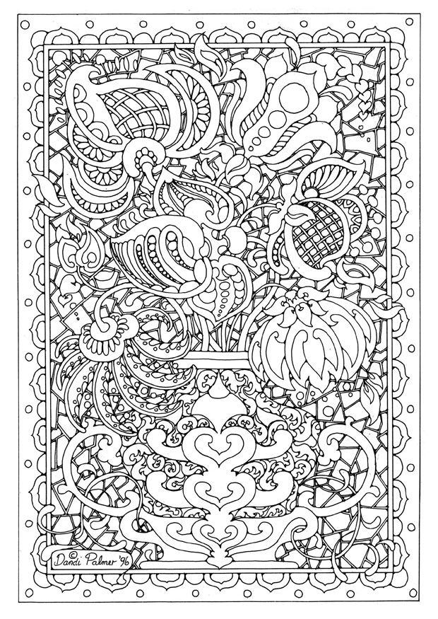 Best Adult Coloring Pages Flowers ~ Cute Printable Coloring Pages