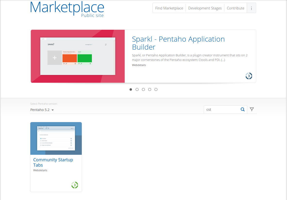 marketplace CST   Community Startup Tabs (Revamped)