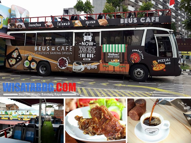 Beus Cafe, Wisata Kuliner Unik yang Lagi Ngehits di Bandung