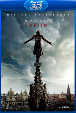 Assassin's Creed (2017) BluRay Rip 1080p Torrent Dual Áudio 3D HSBS 5.1