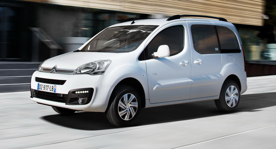 citroen reveals fully electric berlingo multispace with 106 miles of range. Black Bedroom Furniture Sets. Home Design Ideas