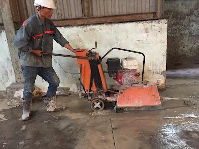 Khoan cắt bê tông tại thành phố Trà Vinh