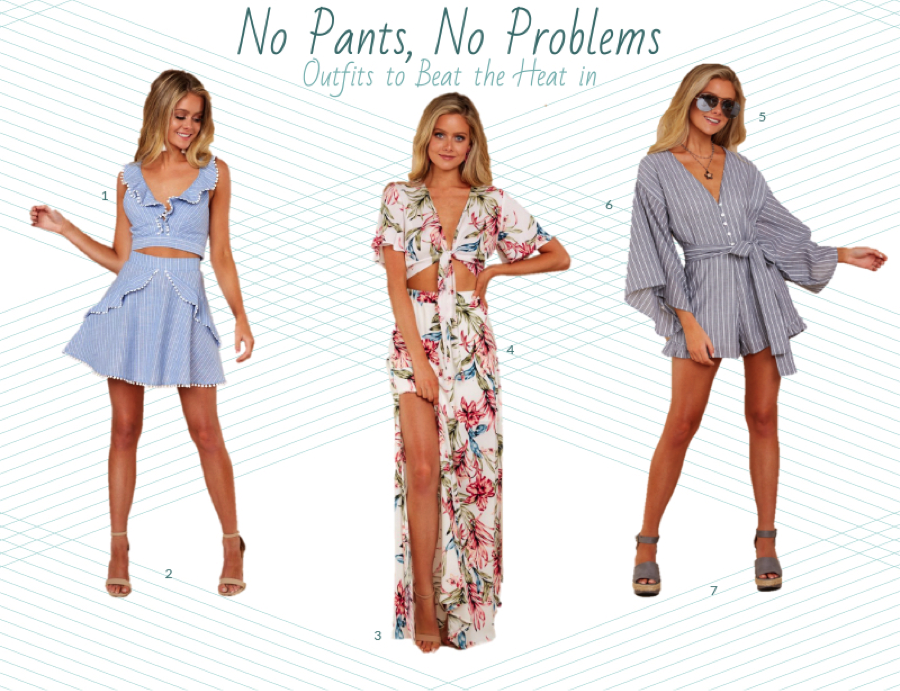 8101659529 3 Weekend Outfits for When It s Just Too Hot for Jeans - Not ...