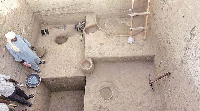 Bead workshop found at Haryana's Harappan site