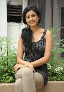 Telugu actress Rakul Preet Singh promote telugu movie Keratam online pictures.jpg