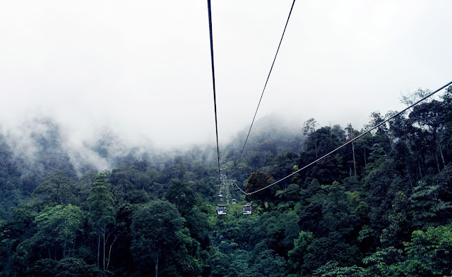 Pengalamanku Menaiki Genting Skyway Malaysia