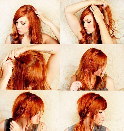 2 Peinados Romanticos Para Este Febrero Bella En Casa - Peinados-romanticos-con-trenzas