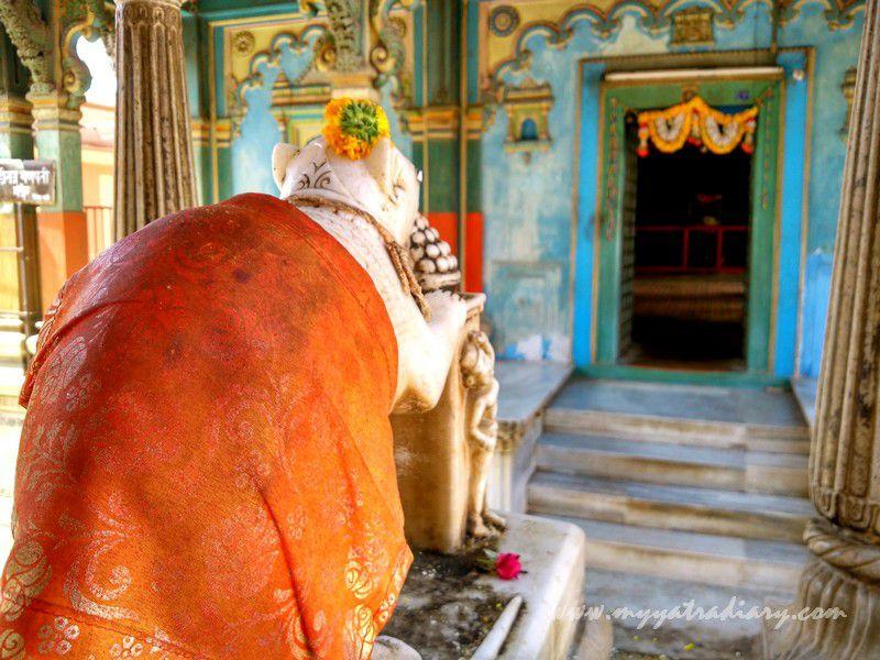 Mushak at heritage Dhundiraj Ganesha Temple, Vadodara, Gujarat