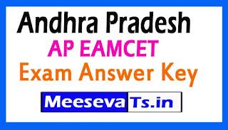 Andhra Pradesh AP EAMCET Exam Answer Key 2017