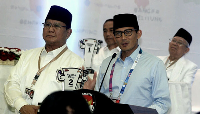Prabowo - Sandi Gunakan Format 5-2 Untuk Berkampanye