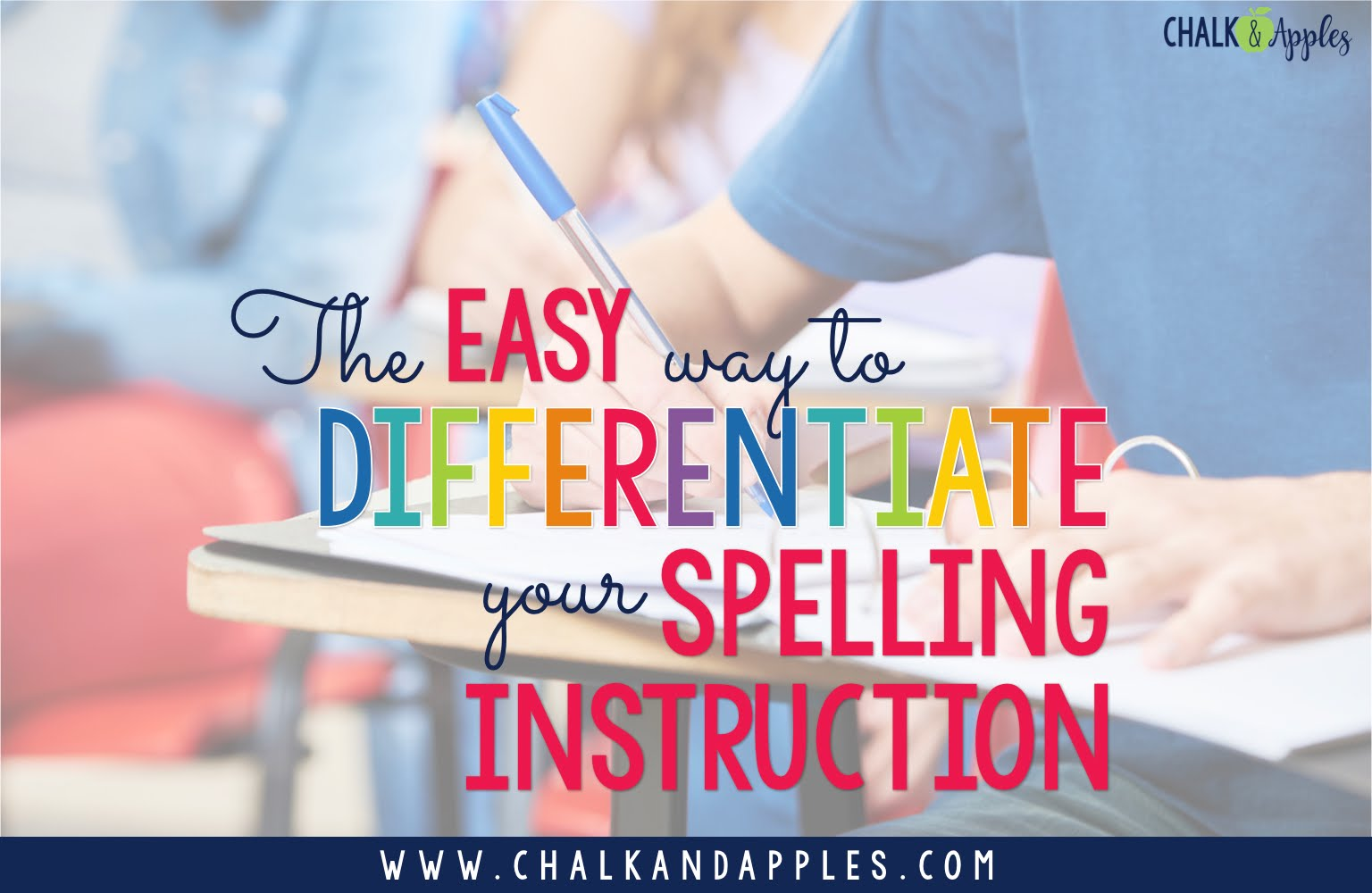 Quickly & easily differentiate your spelling instruction using the resources you already have!