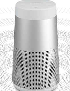 Bose SoundLink Revolve bluetooth speakers with 360 degree omnidirectional sound