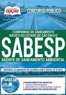 apostila Agente de Saneamento Ambiental SABESP 2018