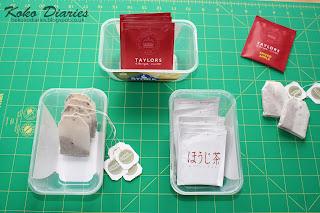Teabag Sachets