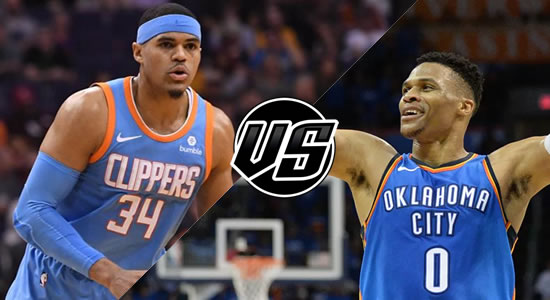 Live Streaming List: LA Clippers vs Oklahoma City Thunder 2018-2019 NBA Season