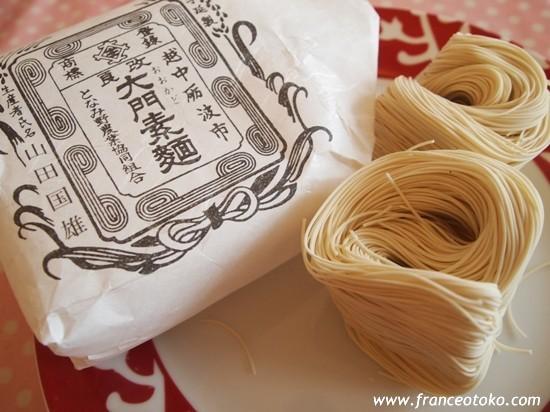 日本のおいしい高級ソーメン・大門素麺