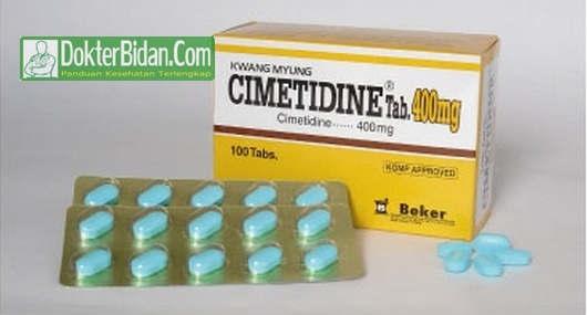 Cimetidine 400mg - Info Dosis Obat Untuk Asam Lambung dan Efek Sampingnya