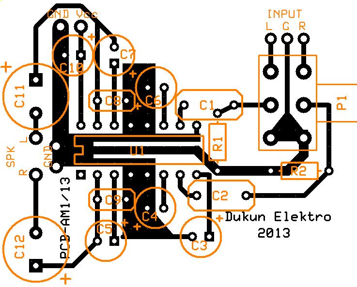 Wiring Machine: Tea2025b Pcb Layout