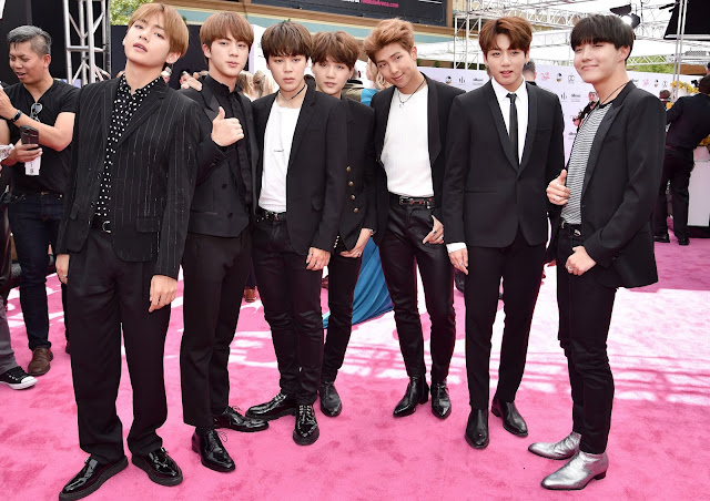 BTS The First KPop Artist To Win At Billboard Music Awards
