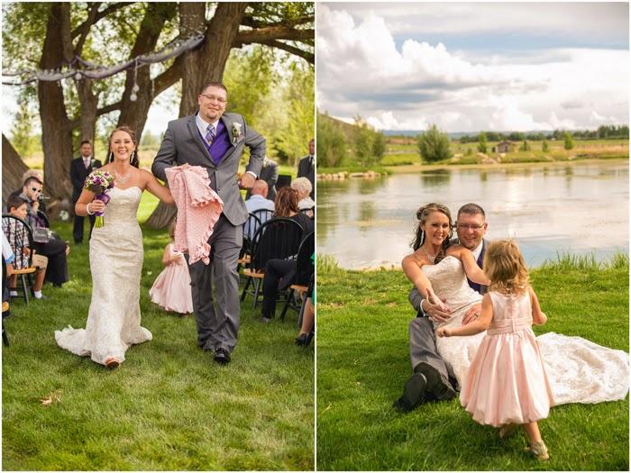 bridal magic familyfriendly outdoor wedding amber nate