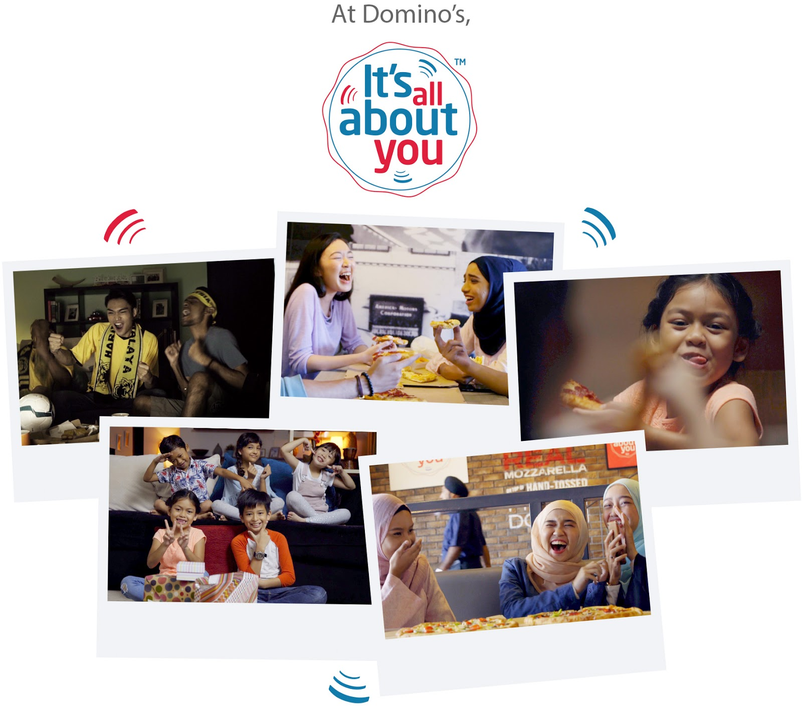 Domino's Pizza All About You