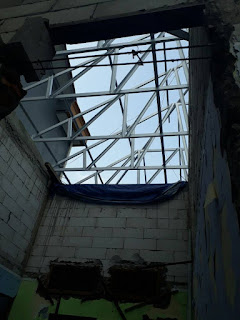 Renovasi rumah menggunakan Rangka Atap Baja Ringan di pejaten jakarta selatan