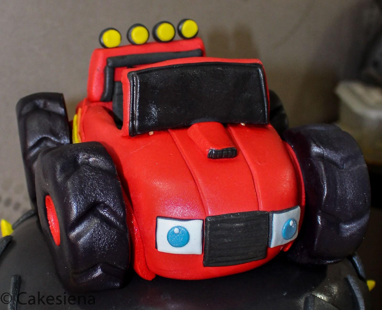 Cake Factory Blaze The Monster Truck Cake