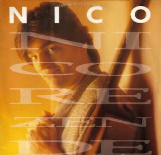 Capa do disco ´Nico´, lançado em 1989 por Nico Rezende