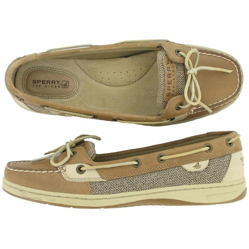 Womens Sperry Top Sider Authentic Original Boat Shoe Brown