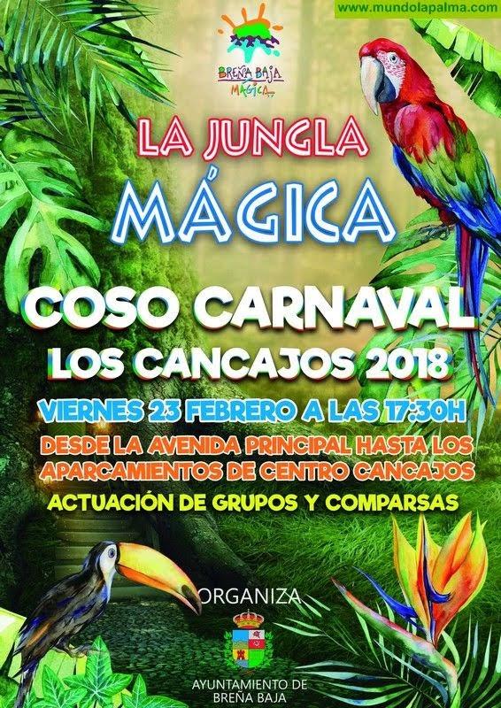"""Coso del Carnaval de Los Cancajos """"La jungla mágica"""""""