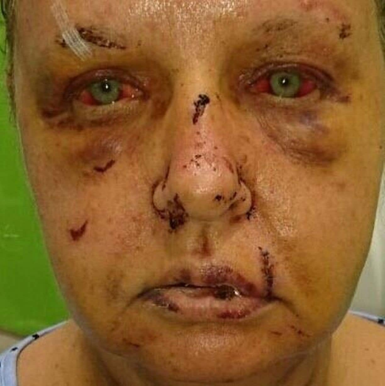 This woman met her husband online