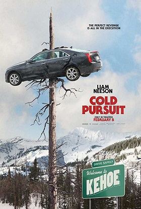 Cold Pursuit (2019) English 300MB BRRip ESubs 480p