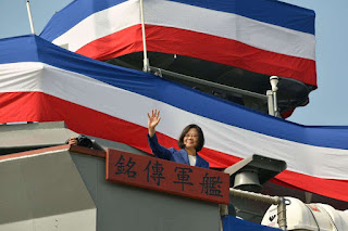 Taiwan Navy adds two new warships to it's rank amid China tension