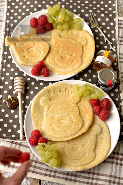 perfect basic pancakes made with butter vanilla and low sugar