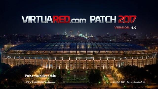 PES 2017 VIRTUARED.COM PATCH 2017 V5.0