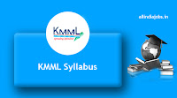 KMML Technician Syllabus