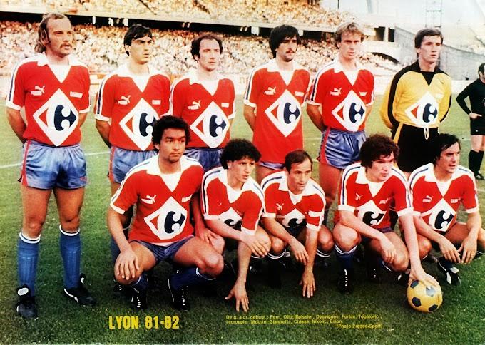 OLYMPIQUE LYONNAIS 1981-82.