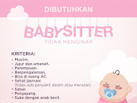Lowongan Kerja Baby Sitter Tidak Menginap di Yogyakarta